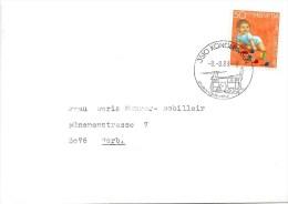 Brief  Konolfingen - Worb  (Schnapsdatum)            1988 - Switzerland