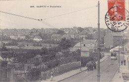 76 - Sanvic - Panorama (animation, Attelage, Tramway, 1907, ELD) - France