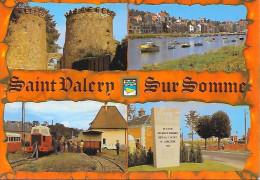 SAINT VALERY  SUR SOMME (80)   Vues Diverses - Saint Valery Sur Somme
