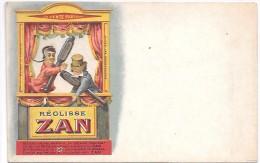 Publicité - REGLISSE ZAN - Werbepostkarten