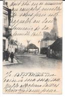 Cpa Dun-sur-Auron  /  La Place Du Marché . - Dun-sur-Auron