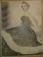 Dessin Au Crayon-Illustrateur -Kathryn Grayson, Née Zelma Kathryn Elisabeth Hedrick, Est Une Actrice Et Chanteuse Am (3) - Dessins