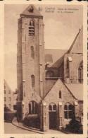 Kortrijk Courtrai Eglise De Notre-Dame O L Vrouwkerk (verzonden Naar Vlashandelaar Vlas ) - Kortrijk