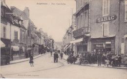 ARGENTON ( 36 - Indre ) - Rue Gambetta ( Animée, Personnes, Tabac ...) - Frankreich
