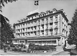 SUISSE Switzeland ( LU ) LUCERNE : Grand Hotel EUROPE - CPSM Dentelée Noir Et Blanc Grand Format - - LU Luzern