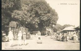 CPA - Cayenne - La Rue Du Port - Cayenne