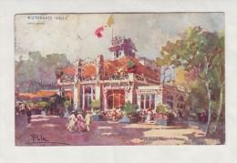 ESPOSIZIONE DI MILANO 1906 - CARTOLINA UFFICIALE - RISTORANTE VALLE-   POSTCARD N. 52 - Esposizioni