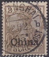 DAP CHINA 1901 Nr 15 Zentrisch Gestempelt -6sHW7 - Bureau: Chine