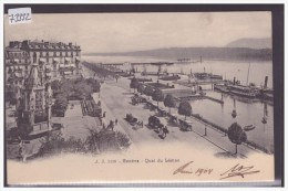 GENEVE - QUAI DU LEMAN - TB - GE Genève