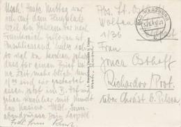 """K7354 - Germany (1941) Bad Harzburg / """"Feldpost"""" (postcard: Weg Zum Brocken) - Deutschland"""