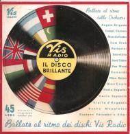 BALLATE AL RITMO DEI DISCHI VIS RADIO   Orchestra Di Tanghi MORRES   1954 - Country & Folk