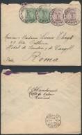 CP309 Lettre De Termonde à Rome Italie 1922 - Bélgica