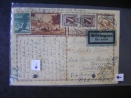 AUSTRIA - FULL POSTAL Circulated FOR BRAZIL IN 1931 AS - Interi Postali