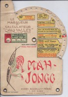 MAH-JONGG--LE MARQUEUR ET CALCULATEUR CHAD VALLEY-RECT/VERSO - Group Games, Parlour Games