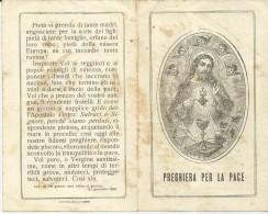 SANTINO PREGHIERA PER LA PACE A MARIA  PER I NOSTRI SOLDATI COMBATTENTI - Santini