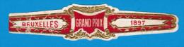 1 BAGUE DE CIGARE GRAND PRIX BRUXELLES 1897 - Bagues De Cigares