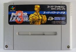 Super Famicom : Super Power League 3 SHVC-AP9J-JPN - Electronic Games