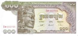 Cambodia - Pick 8 - 100 Riels 1972 - Unc - Cambodge