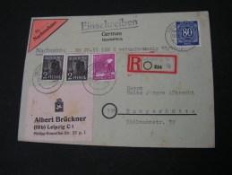 == Deutsche Post Leipzig ,  R-und Nachnahmen   Kl. Mängel.. 1947 - Sowjetische Zone (SBZ)