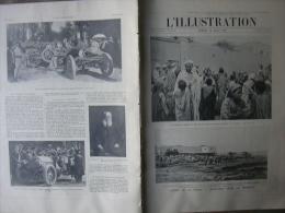 L'ILLUSTRATION 3363 MAROC/ EXECUTIONS COREE/ ACCIDENT RAIL PONTS DE CE/  10 Aout 1907 - L'Illustration