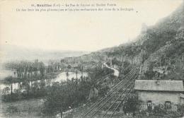 Souillac - Le Pas Du Raysse Au Rocher Pointu - Rives De La Dordogne - Ligne De Chemin De Fer - Carte Non Circulée - Souillac