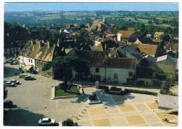 HURIEL . 03 . Vue Sur La Place Du Village - France