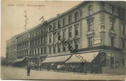 Wien XVIII - Währingergürtel - Restaurant Carl Haupt - Verlag Würthle & Sohn Wien Gel. 1910 - Sonstige