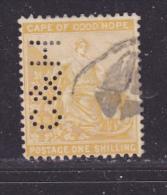 CAP DE BONNE ESPERANCE - Perforé-Perfin-Perforés-Perfins -  C & H - - Südafrika (...-1961)