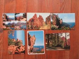 """Lot De 6 Cartes Postales Des """" Calanche De Piana """"      Corse - 5 - 99 Cartes"""
