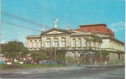 SAN JOSè -COSTA RICA    -F/P   Colore - Teatro Nazionale  (231110) - Costa Rica
