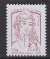 Marianne Et La Jeunesse Gommé Lettre Prioritaire -50g France  N° 4771 Lilas-brun Neuf Ciappa Kawena (50g) - 2013-... Marianne De Ciappa-Kawena