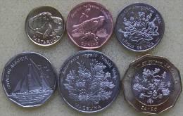 Cape Verde Set 6 Coins 1994 ,1; 5; 10; 20; 50; 100 Escudos , UNC,  Africa - Cap Vert