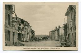 CPA  08 :  GRANDPRE  Rue De Chantraine     A    VOIR  !!! - Other Municipalities