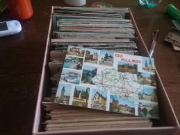 03 Lot De + 600 Cartes De L Allier Lot 3 Kg - Cartes Postales