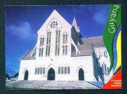 GUYANA  -  St George´s Cathedral  Georgetown  Used Postcard As Scans - Postcards