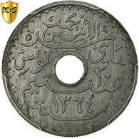 Monnaie, Tunisie, Muhammad Al-Amin Bey, 20 Centimes, 1945, Paris, PCGS, MS63 - Tunisie