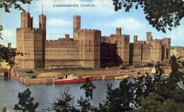 ROYAUME UNI PAYS DE GALLES CAERNARVON CASTLE - Caernarvonshire
