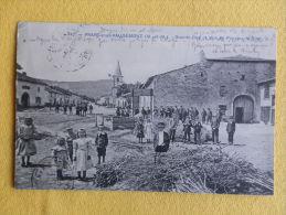 Dep 54 , Cpa PRAYE Sous VAUDEMONT , 342 , Grande Rue Et Vue Du Plateau De Sion (01V001) - Andere Gemeenten