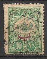 Timbres - Turquie - 1909/11 -  Pour L´étranger - 10 Paras - - Used Stamps