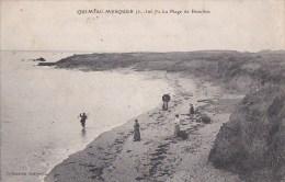 44 QUIMIAC MESQUER  Jolie Vue Bord De MER Du Monde Sur La PLAGE De BEAULIEU  Timbre 1906 - Frankreich