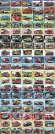 A04405 China Phone Cards Fire Engine Puzzle 380pcs - Firemen