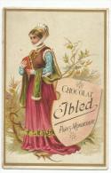 CHROMOS IBLED - COSTUME FEMININ. - Ibled