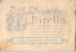 MIRELLA-FIRENZE-L'ARGENTATURA-BUSTINA CON ALLUMINIO IN POVERE-APERTA MA NON USATA - Advertising