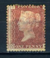1855 - United Kingdom - Gran Bretagna - Catg. Mi. 11B - LH - (T23032016) K.14 1/2 X 14 1/2 - Unused Stamps