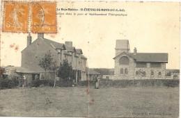 44  SAINT  ETIENNE  DE  MONT LUC  LE PAVILLON DANS LE  PARC ET ETABLISSEMENT THERAPEUTIQUE - Saint Etienne De Montluc