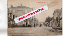 16 - CHASSENEUIL - AVENUE DE LA GARE - HOTEL DE LA GARE - EDITEUR ERNEST MESIERE SAINT JUNIEN - Frankrijk