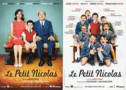 Affiches Cinéma Sur Carte X 2 - Le Petit Nicolas - Manifesti Su Carta