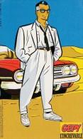 CHALAND. PUB Chaussures GEPY. 1984. GEPY L'Increvable. Carte Souple Non Autocollante. - Objets Publicitaires