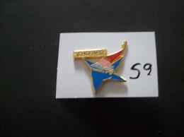 PIN´S -  JO D´ Hiver Albertville 92  Mascotte  & Pub GASPARD      - Voir Photo ( 59 ) - Olympische Spelen