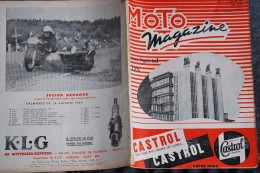 210/ MOTO MAGAZINE- N° Spécial Salon 1955-Triumph Saroléa FN Salira Vespa Douglas Gillet Victoria Zundapp Ardie NSU - Auto/Moto